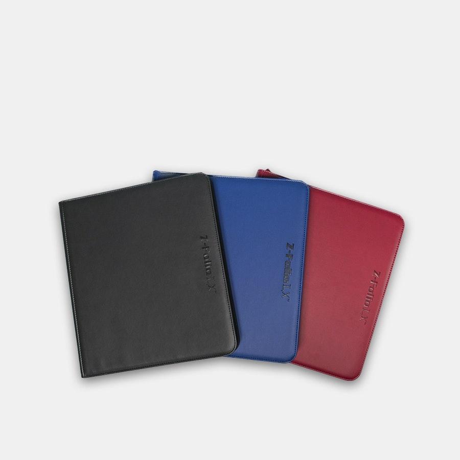 BCW Gaming Z-Folio 12-Pocket LX Album (3-Pack)