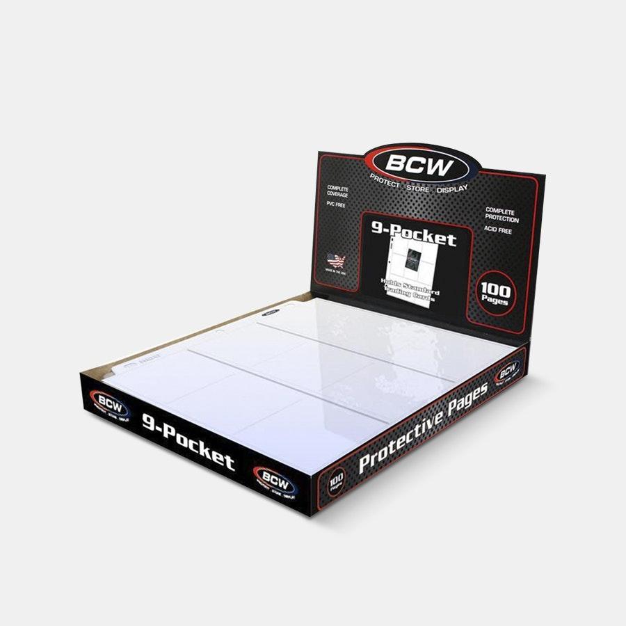 BCW Pro 9-Pocket Page Bundle (300 Total Pages)
