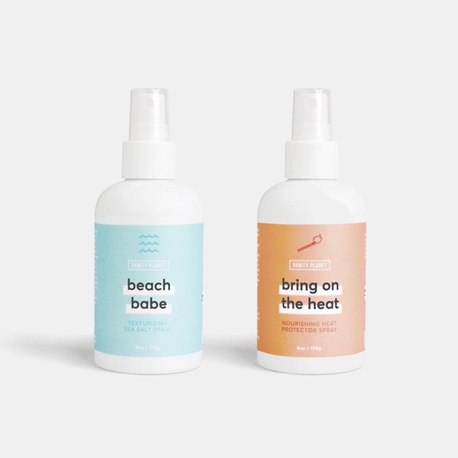 Beach Babe & Bring on the Heat Hair Spray Bundle