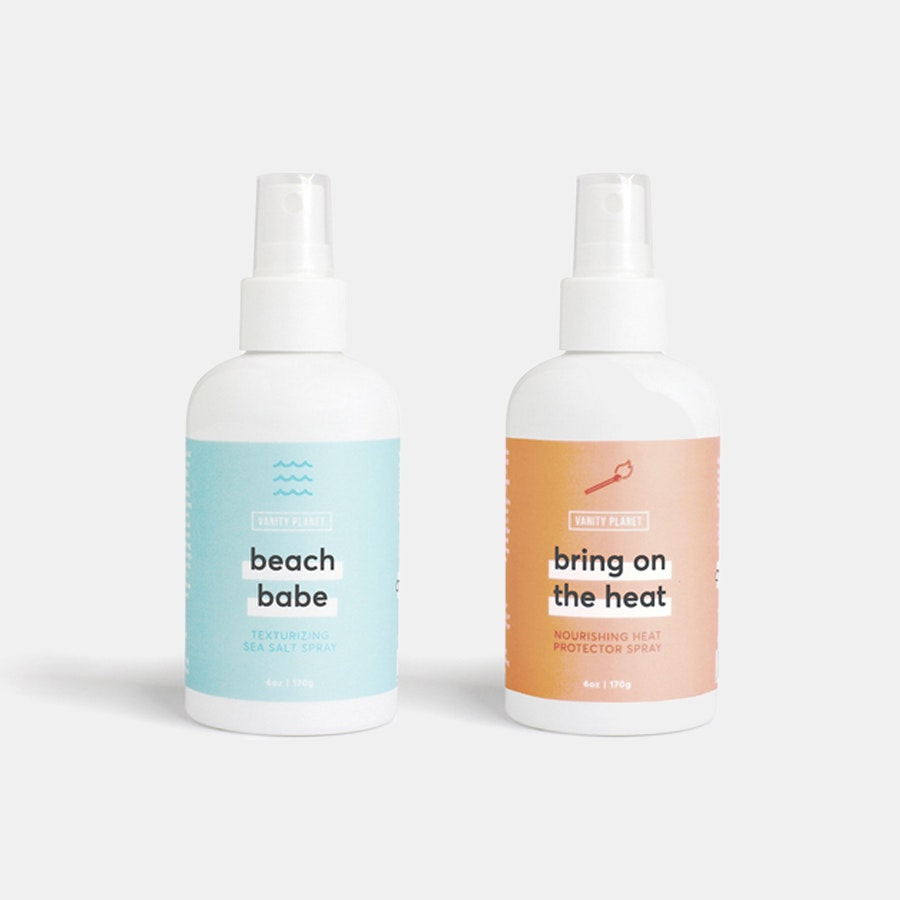 Beach Babe & Bring on the Heat Hair Spray Bundle