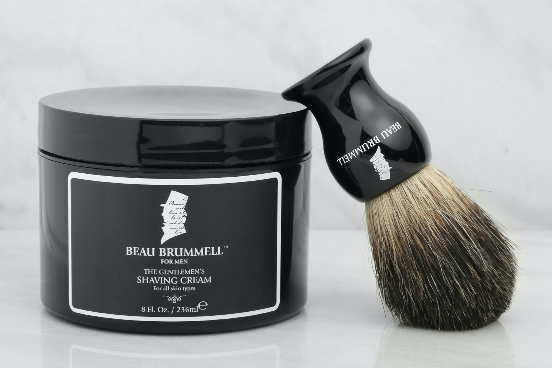 Beau Brummell Shaving Cream & Brush