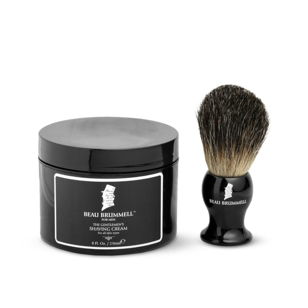 Beau Brummell Shaving Cream & Brush