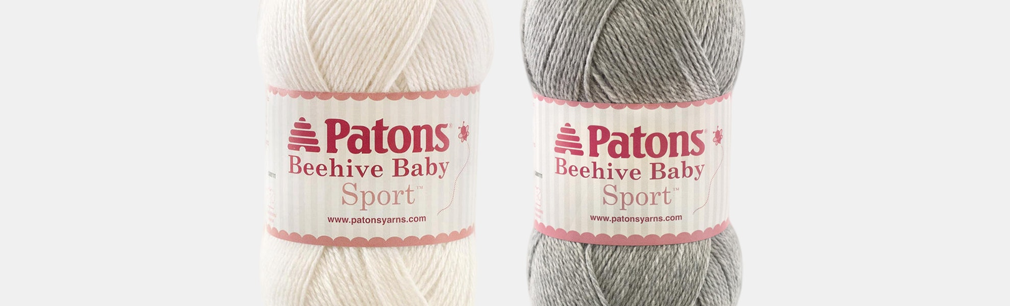 Beehive Baby Sport Yarn by Patons (2-Pack)