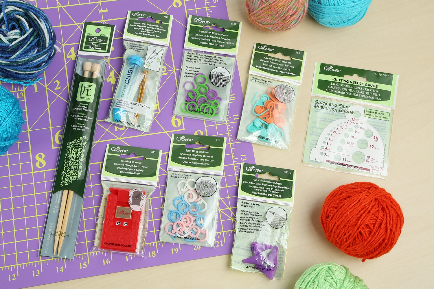 Beginners Knitting Notions Bundle
