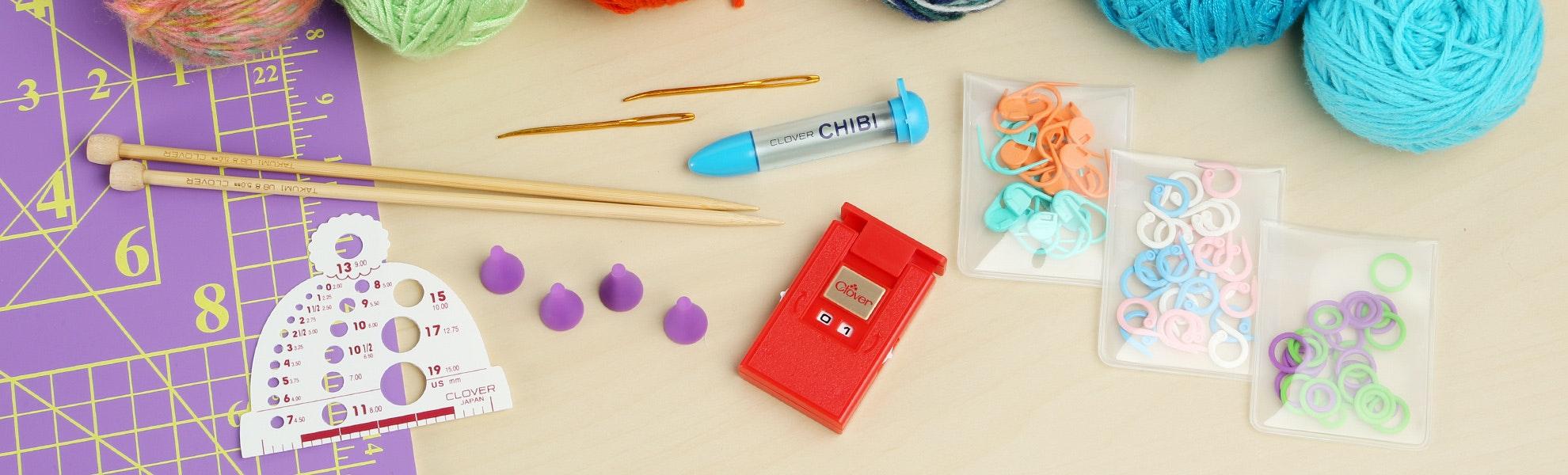 Beginners Knitting Notions Bundle