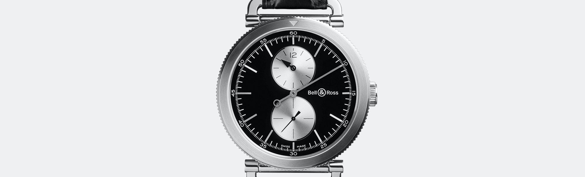 Bell & Ross WW2 Regulateur Officer Automatic Watch