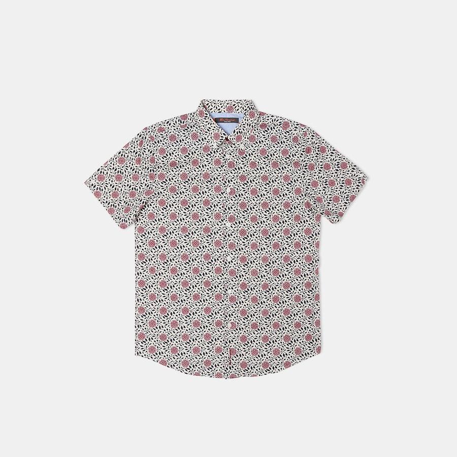 Ben Sherman Short-Sleeve Woven Shirts