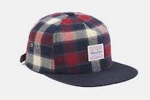 Venture Flannel Strapback Hat - Red