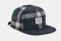 Venture Flannel Strapback Hat - Green