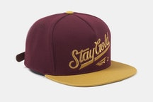 All-Star Fleece Strapback Hat - Burgundy