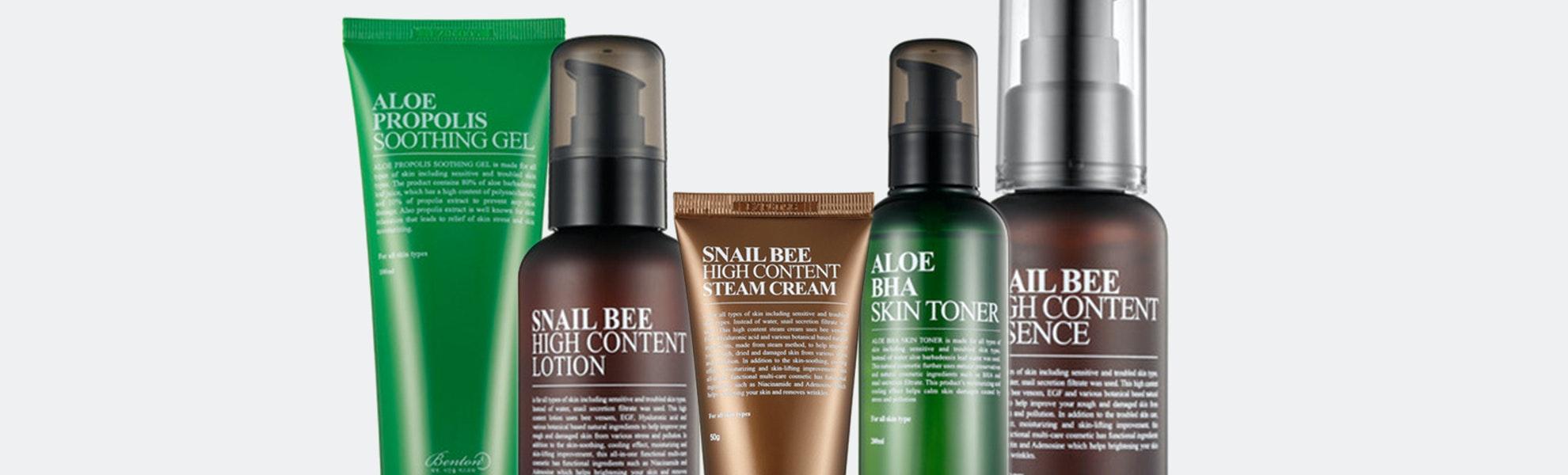 Benton Snail & Aloe Daily Skincare Set
