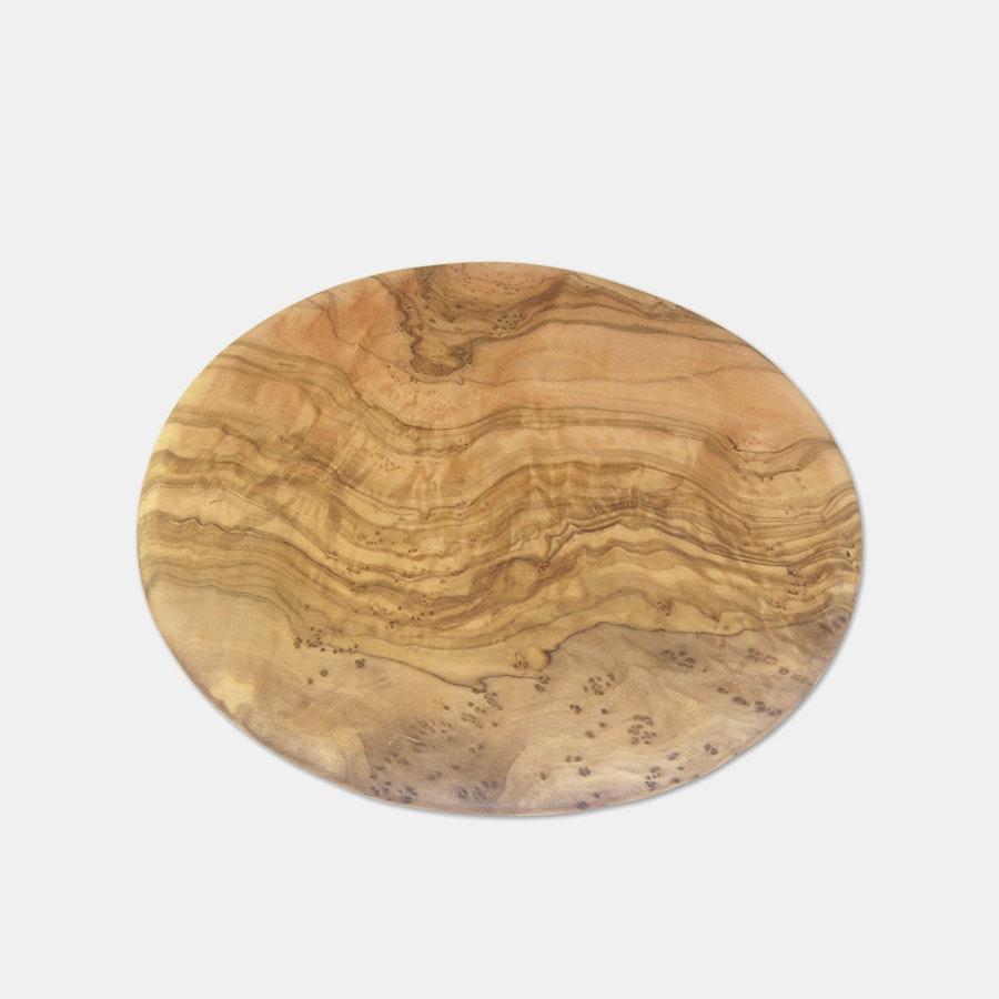Berard Olive Wood 9-Inch Round Cutting Board