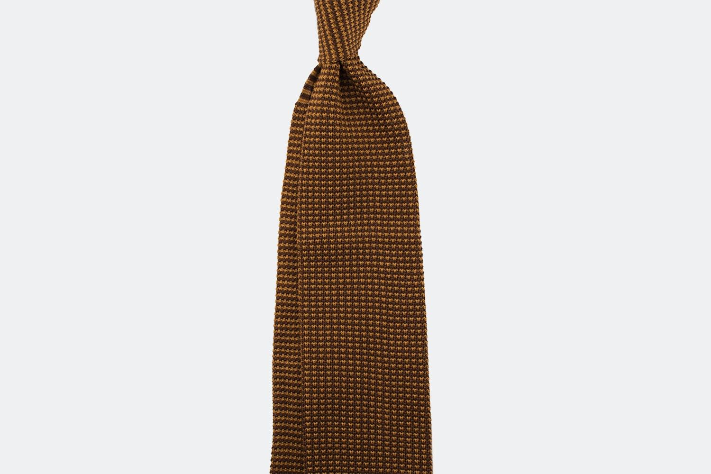 Cotton – brown/mustard