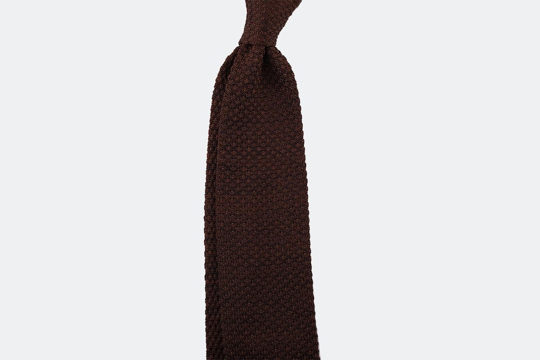 Speckled silk – choco/brown