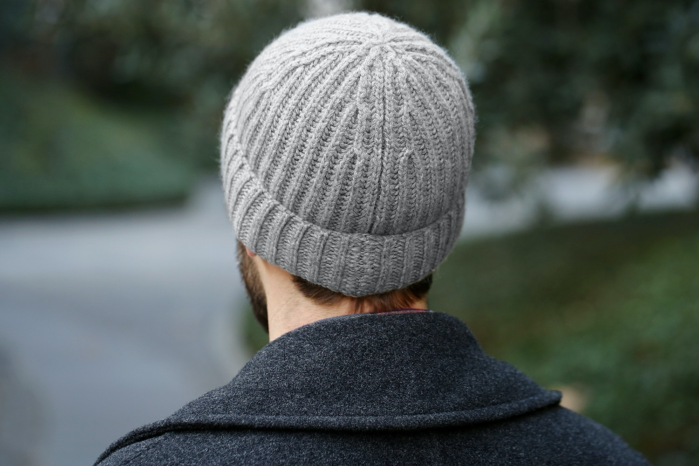 Berg & Berg Ribbed Cashmere Hat