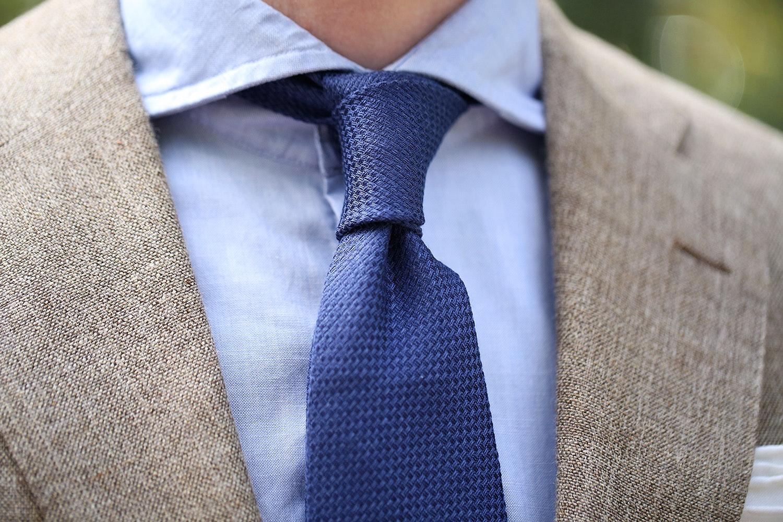 Berg & Berg Silk Linen Blend Tie