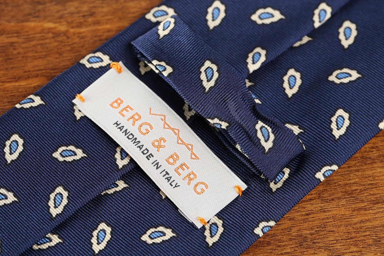 Berg & Berg Silk Printed Summer Tie