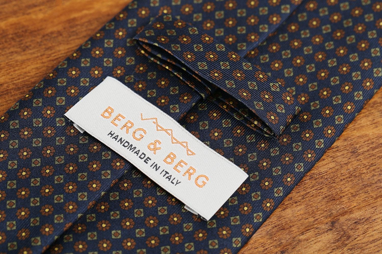 Berg & Berg Silk Printed Tie