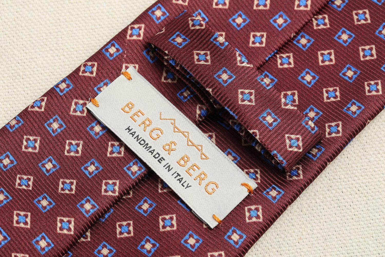 Berg & Berg Silk Tie