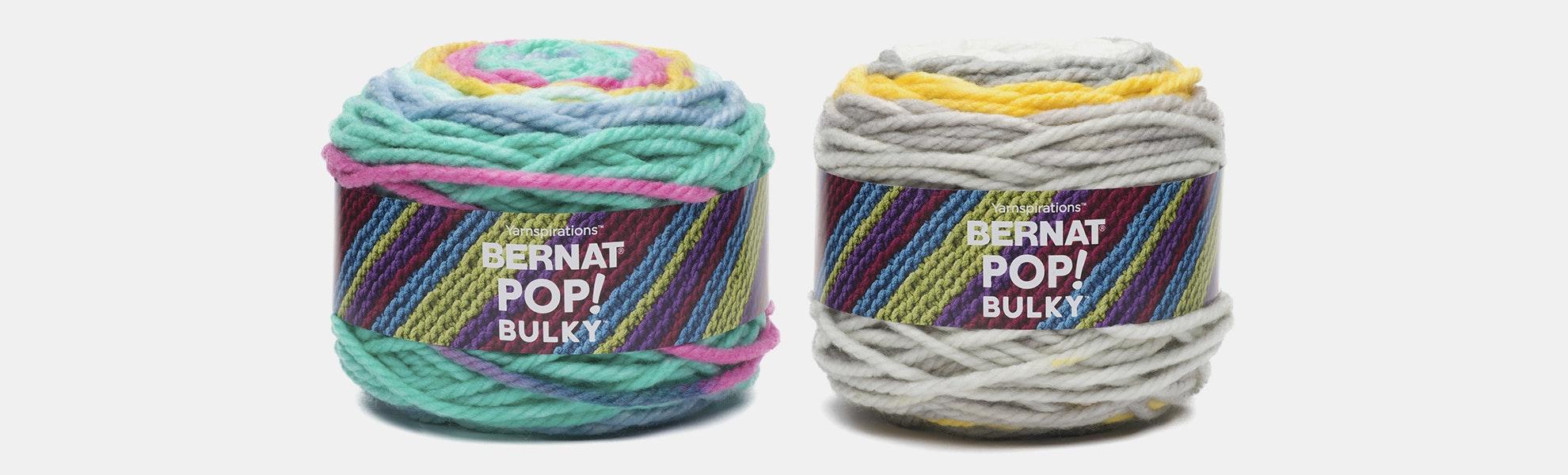 Bernat POP! Bulky Yarn (2-Pack)