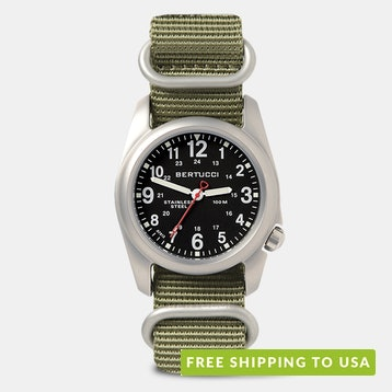 Bertucci A-2S NATO Watch