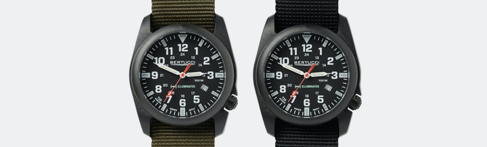 Bertucci A-5P Illuminated EDC Watch