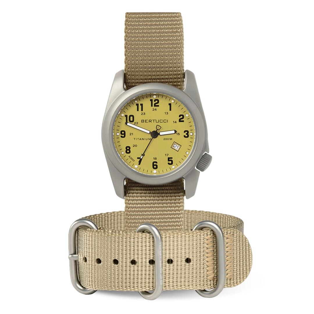 Bertucci A-2T Original Classic Titanium Watch
