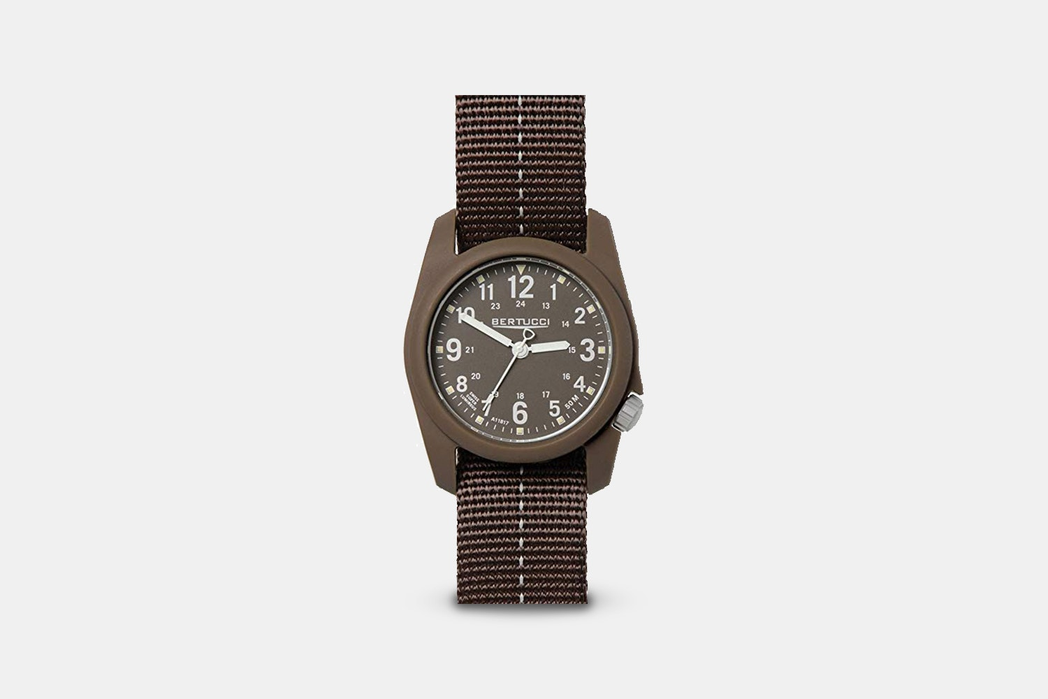 Ombra Brown w/ Stone Dial & Gray Dash