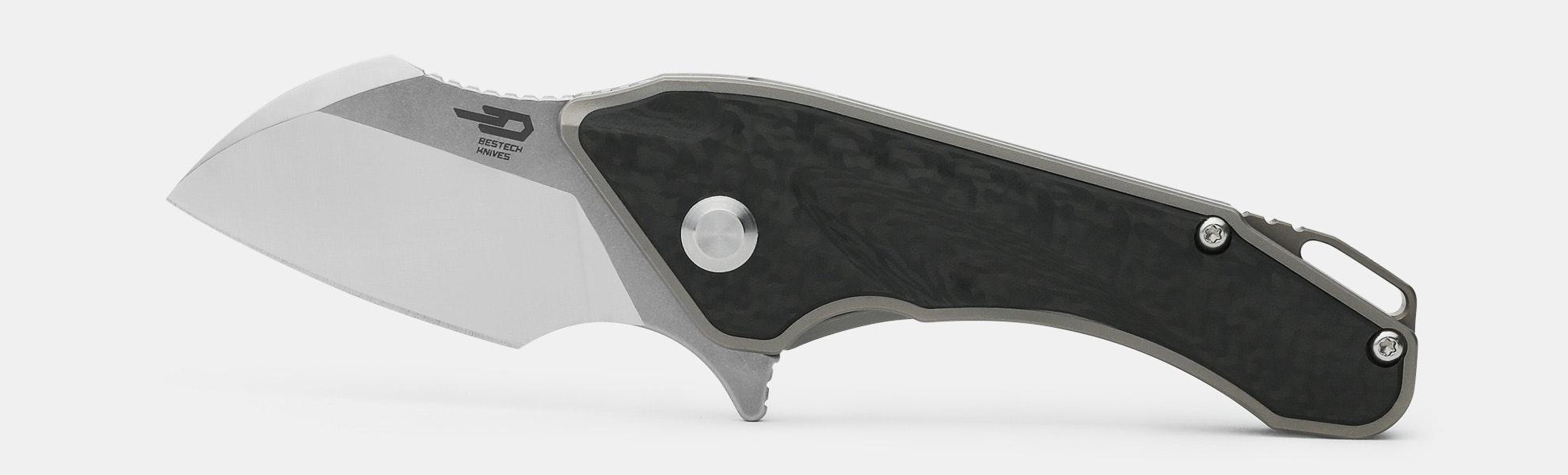 Bestech 1710 IMP Titanium Frame Lock Knife