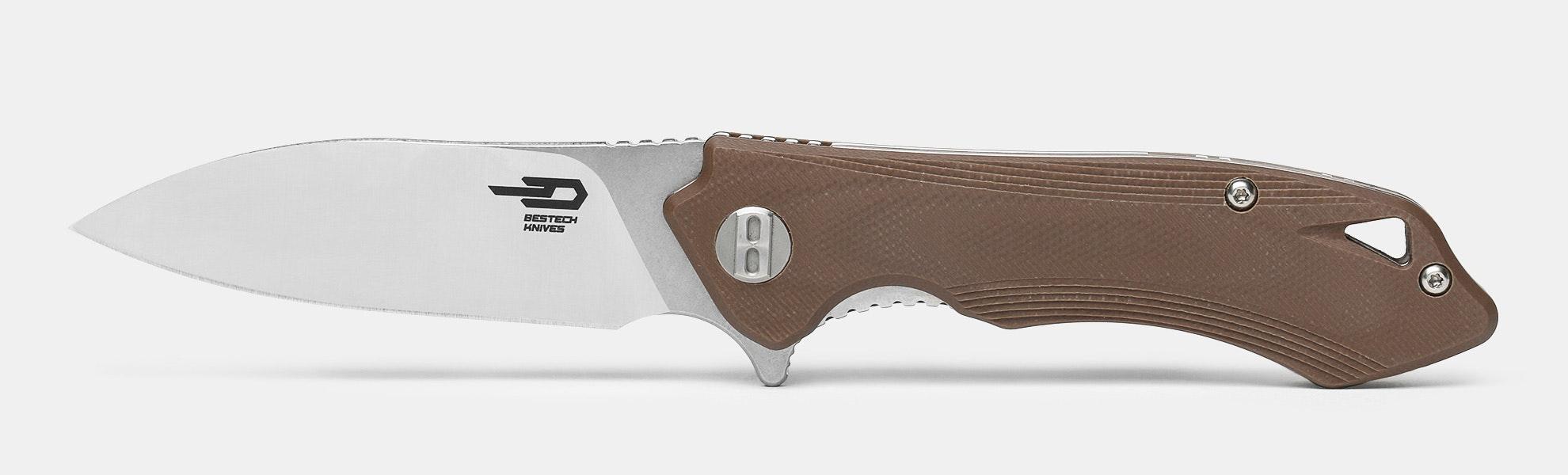 """Bestech BG11 """"Beluga"""" Folding Knife"""