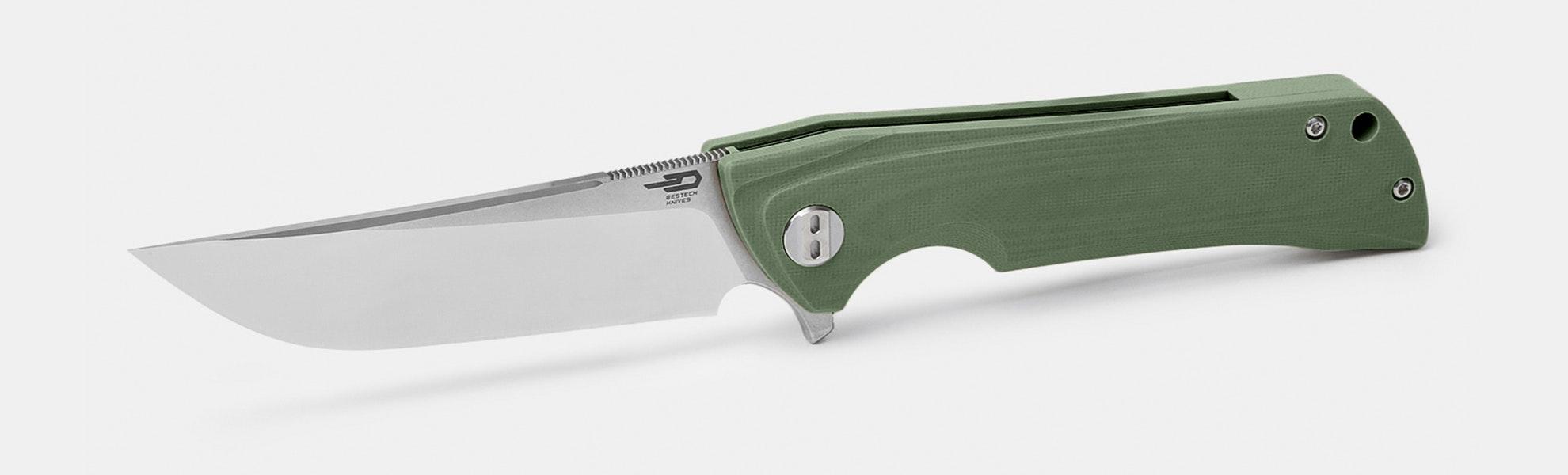 Bestech Paladin Knife (OD Green)–Massdrop Exclusive