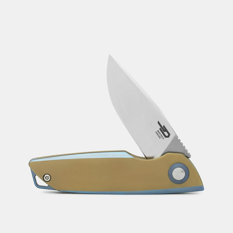Bestech Zen Titanium Folding Knife – Massdrop Debut