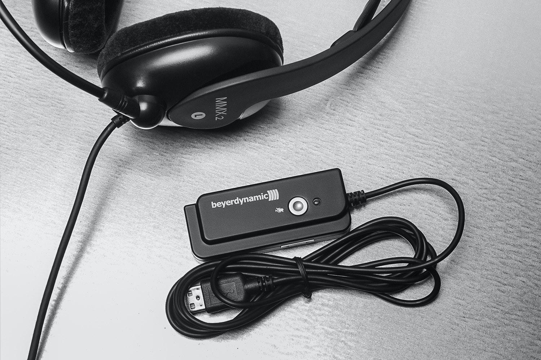 Beyerdynamic MMX2 Gaming Headset + USB DAC