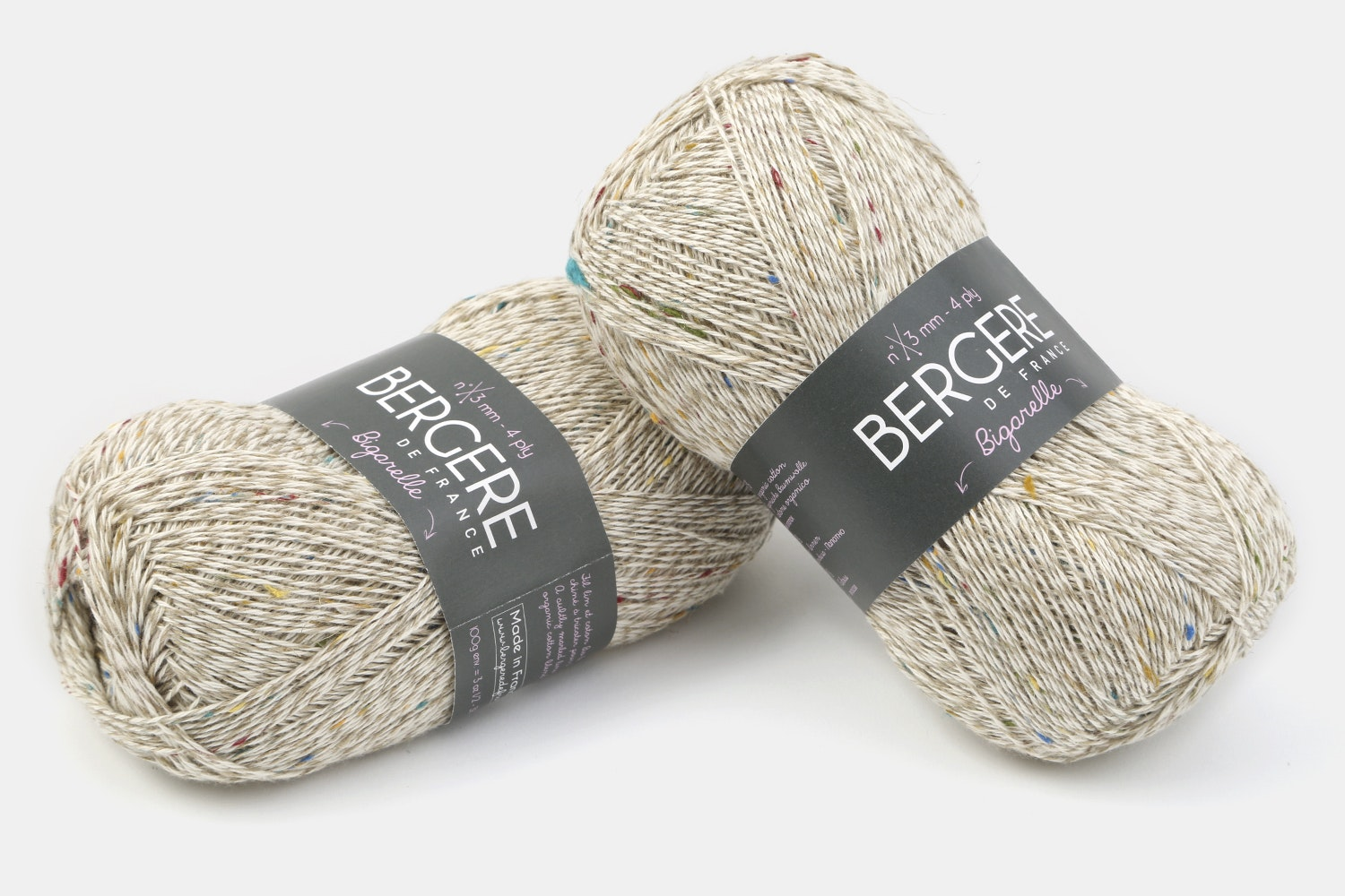 Bigarelle Yarn by Bergere De France (2-Pack)