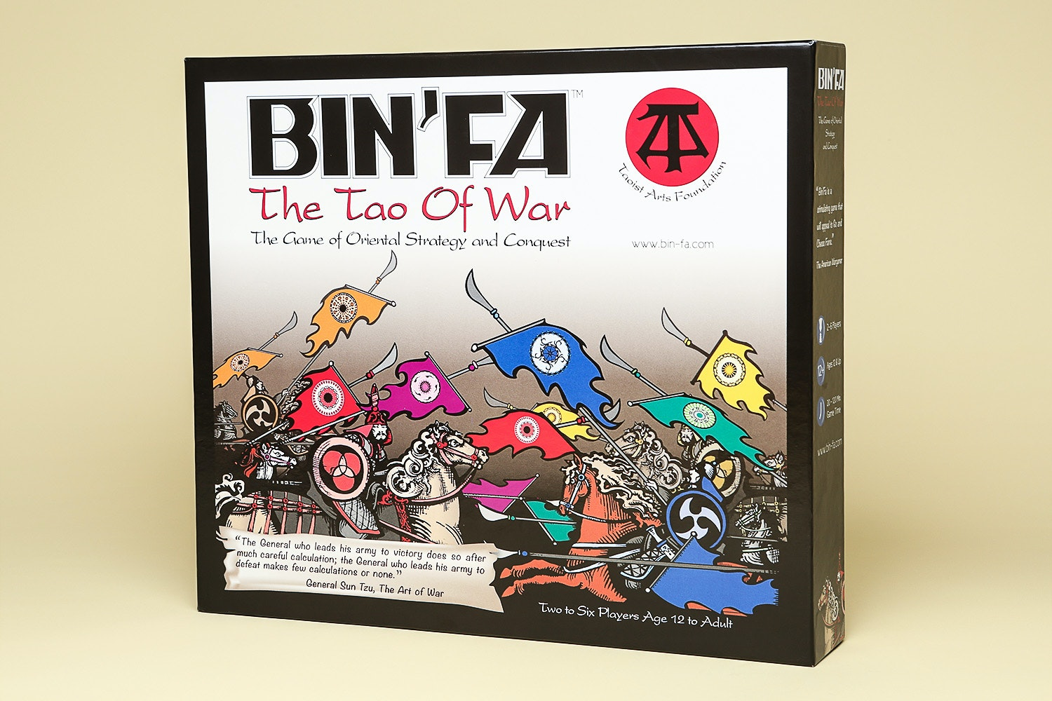 Bin'Fa, The Game of Oriental Strategy & Conquest