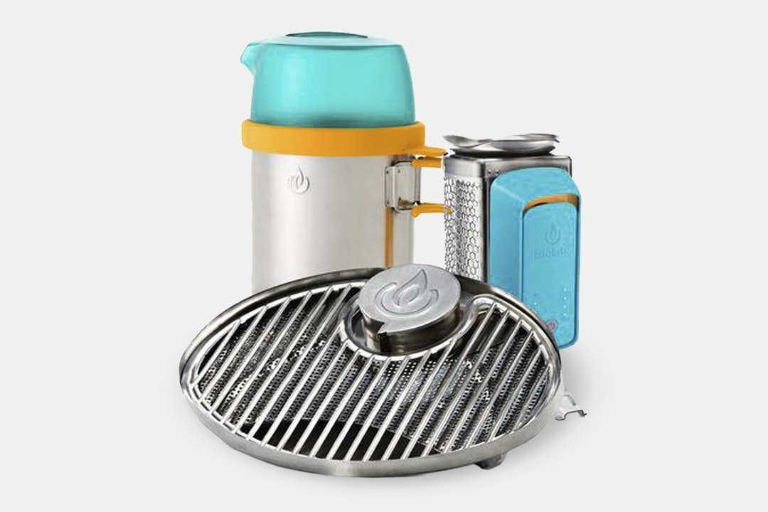 BioLite Wood-Burning CookStove Bundle