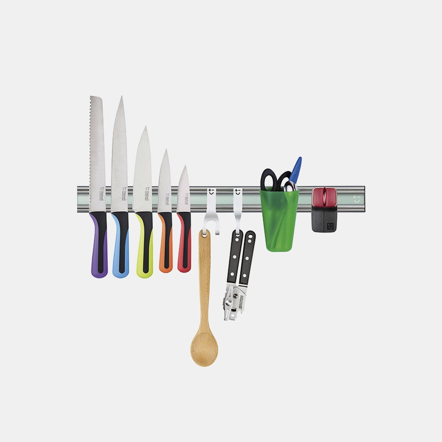 Bisbell 10-Piece Pro Magnetic Knife Rack Set
