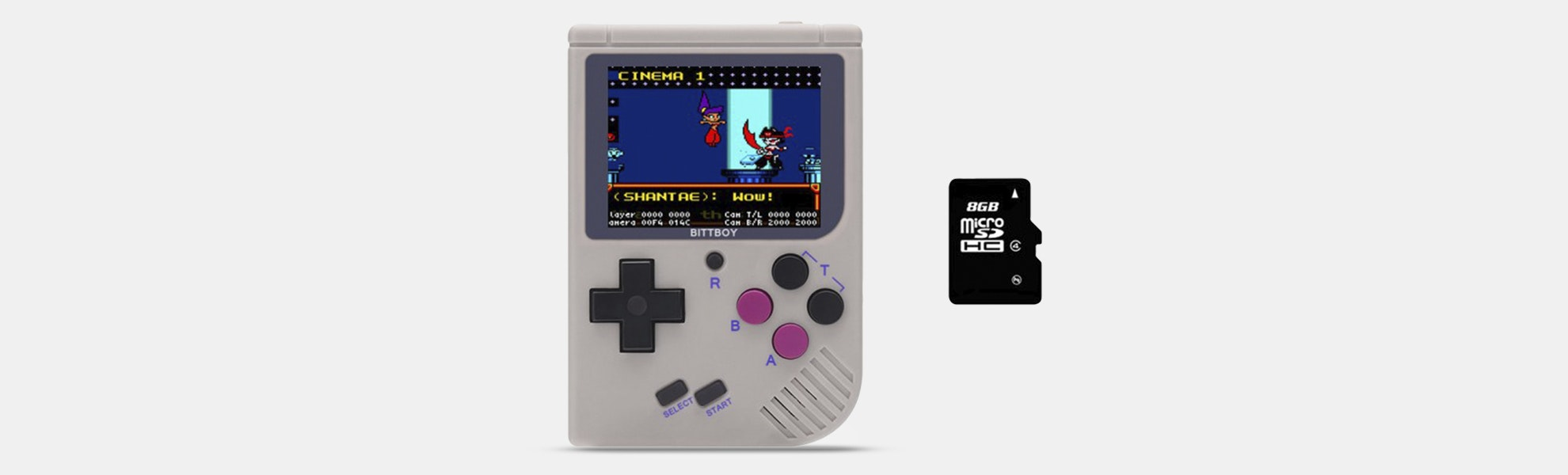 New BittBoy Portable Retro Gaming Console