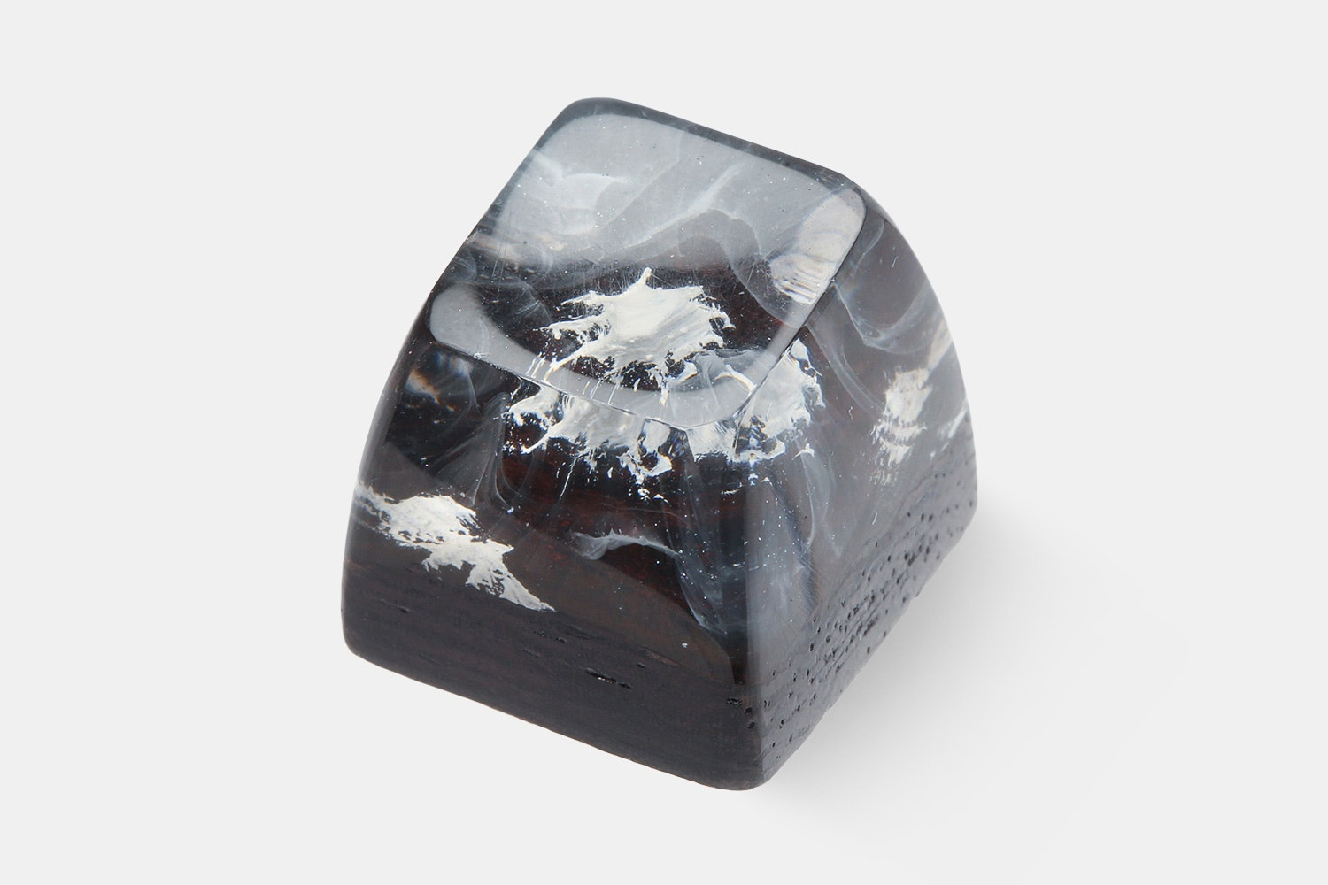 BKD Mt. Fuji Wood & Resin Artisan Keycap