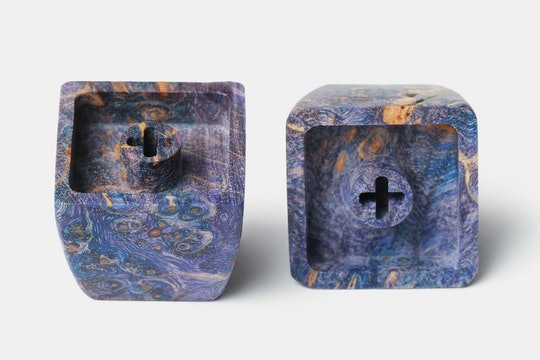 BKD Vivid Stabilized Wood Artisan Keycap