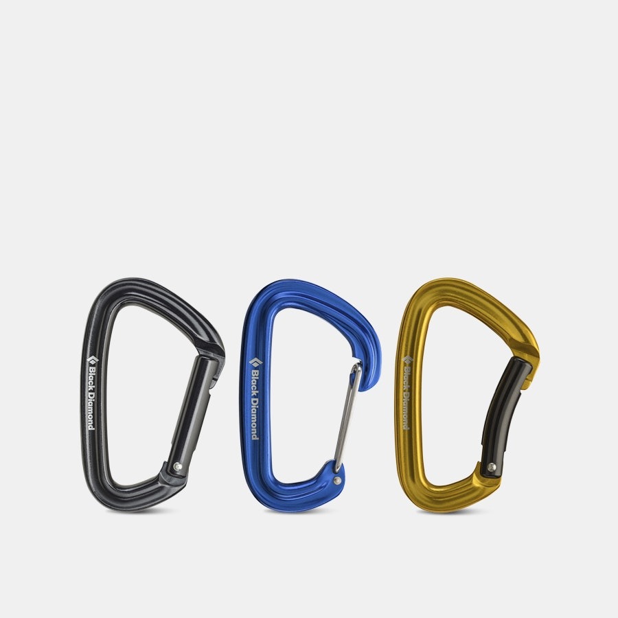 Black Diamond Carabiner Seconds (3-Pack)