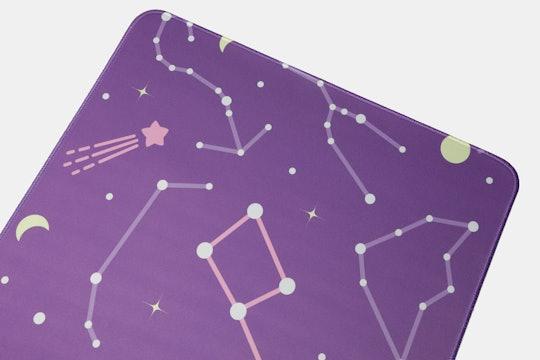 Black Pink Astrolokeys Desk/Mouse Mat