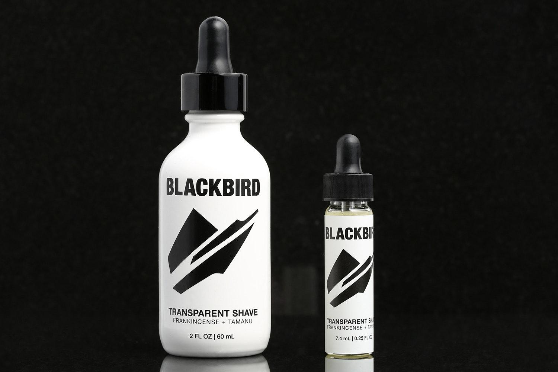 Blackbird Transparent Shave