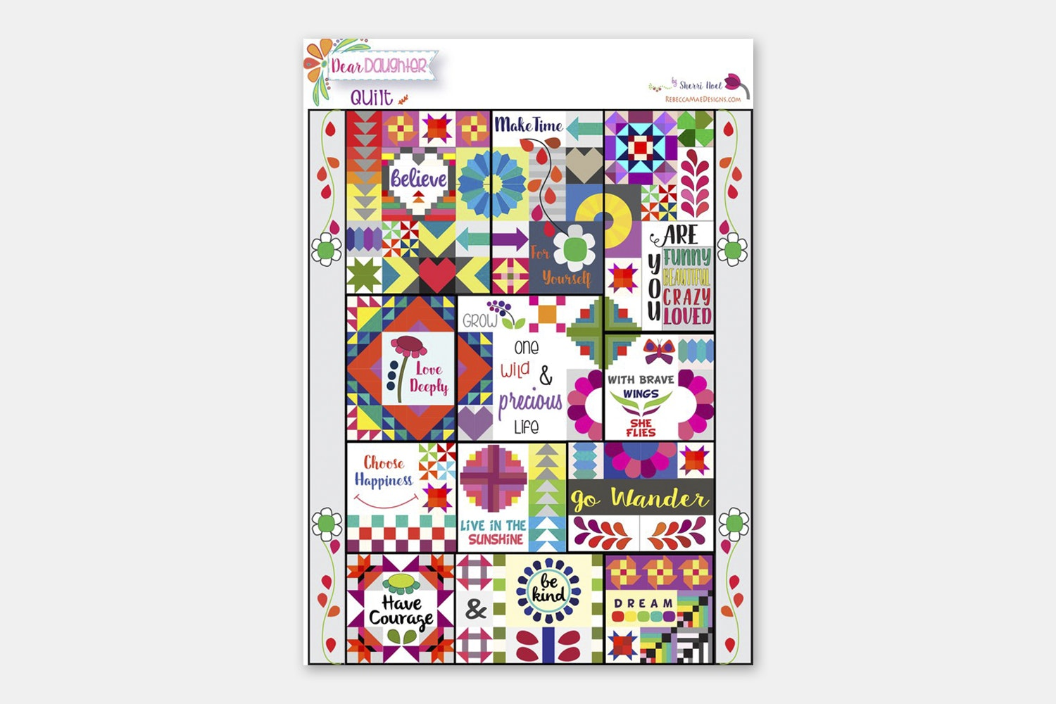 Block of the Month Patterns