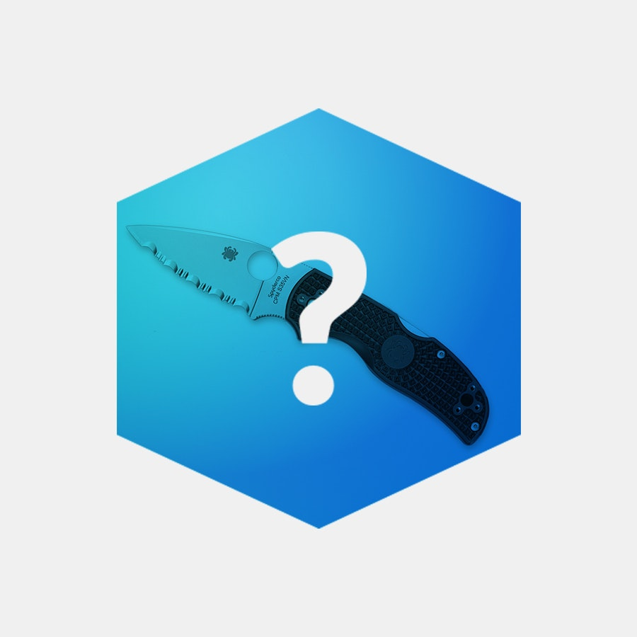 Massdrop Blue Box: Spyderco Native 5