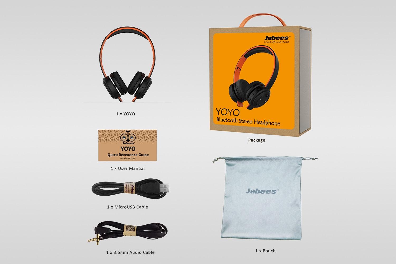 Bluetooth Sport Headphones YOYO