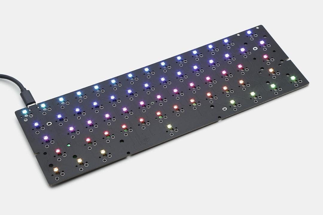 BM60 60% Hot-Swappable RGB PCB