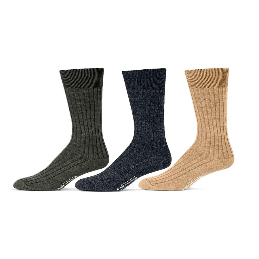Boardroom Socks Merino Wool Socks (3-Pack)