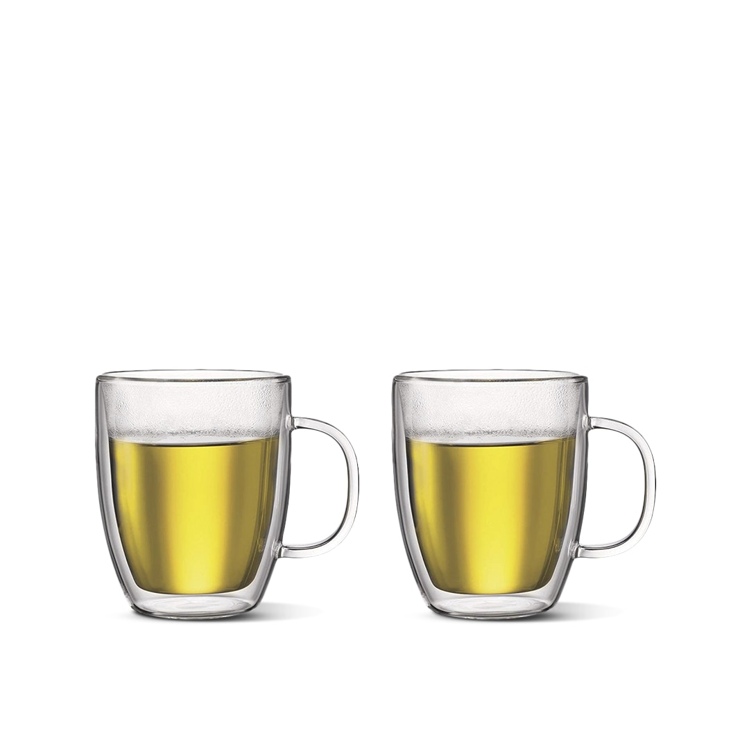 Bodum Bistro Double-Wall Mugs (Set of 2)