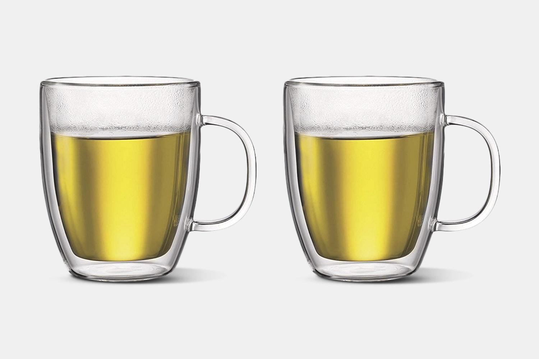 Bodum Bistro Double-Wall Mugs (Set of 2)
